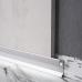 Скрытый алюминиевый плинтус теневого шва с подсветкой Sintezal P-120, H=20mm.