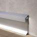 Плинтус алюминиевый с встроенной LED-подсветкой Progress GILED, H=80mm. Италия