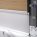 Встроенный алюминиевый плинтус со скрытой LED-подсветкой Sintezal P-115, H=80mm.