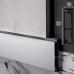 Скрытый алюминиевый плинтус с теневым каналом Sintezal P-55, H=60mm.