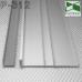 Высокий алюминиевый плинтус для пола ARFEN Р-312, высота 12см.