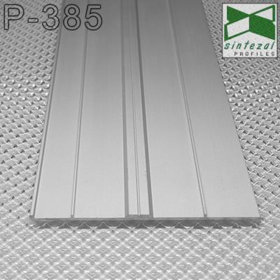 Ультраплоский алюминиевый плинтус для пола ARFEN Р-385, H=85mm. Турция