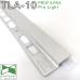 TLA/10. LED-профиль для создания подсветки на плинтусе Profilpas ProLight, 20х10х2700мм. Анодированный
