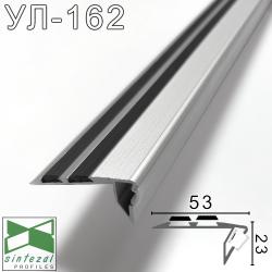 УЛ-162. Антискользящая накладка для подсветки ступеней Sintezal, 53х23х3000мм.