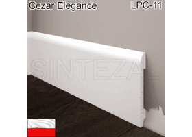 Плинтус из дюрополимера Cezar Elegance LPC-11, 78х13х2000 мм.