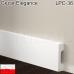 Прямоугольный плинтус для пола Cezar Elegance LPC-36. 40х10х2440 мм.