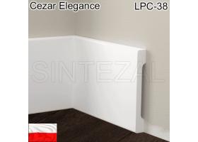 Прямоугольный плинтус Cezar Elegance LPC-38, 95х12х2000 мм.