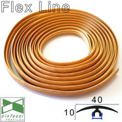 Гибкий порог для пола Cezar® Flex Line, 40х5х6000мм.
