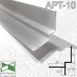 Алюминиевый профиль теневого шва 10х20 мм. Sintezal APT-10